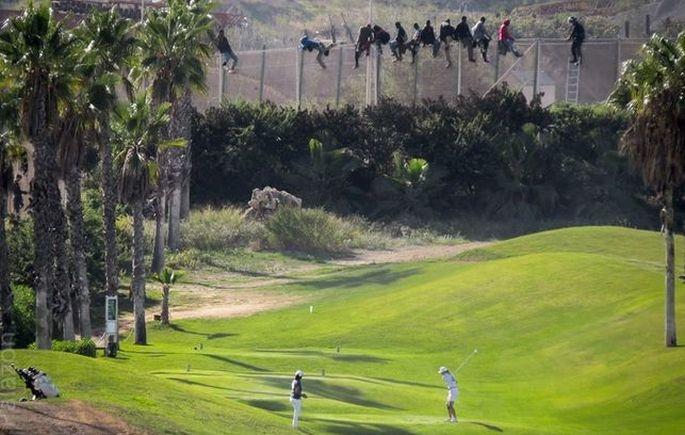 Golf oynayabilsinler diye...