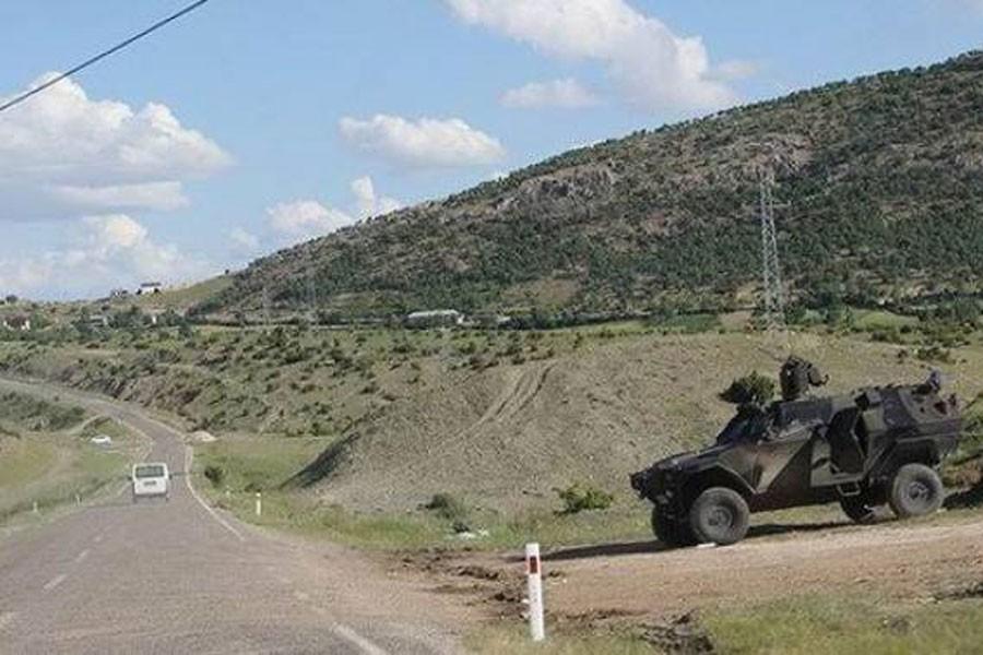 Lice ve Hazro kırsalında askeri operasyon