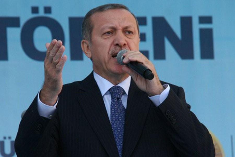 Erdoğan hayır diyenleri yine hedef gösterdi