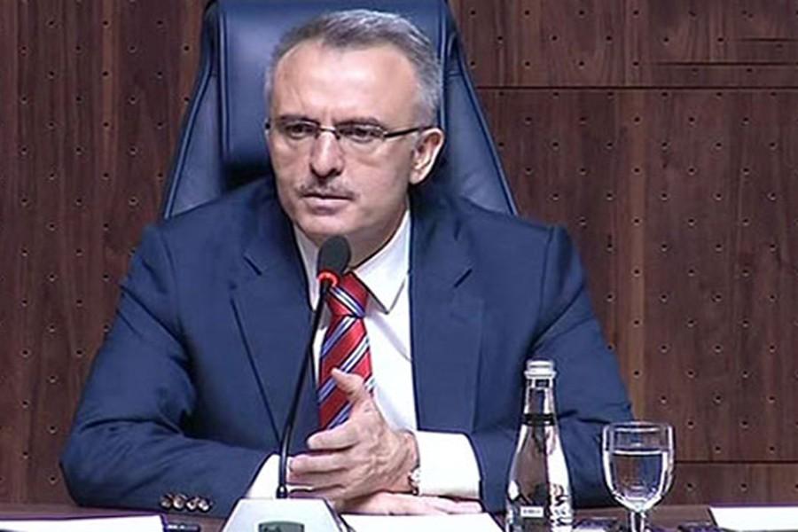 Ağbal: Şubat ayında bütçe 1.9 milyar TL açık verdi