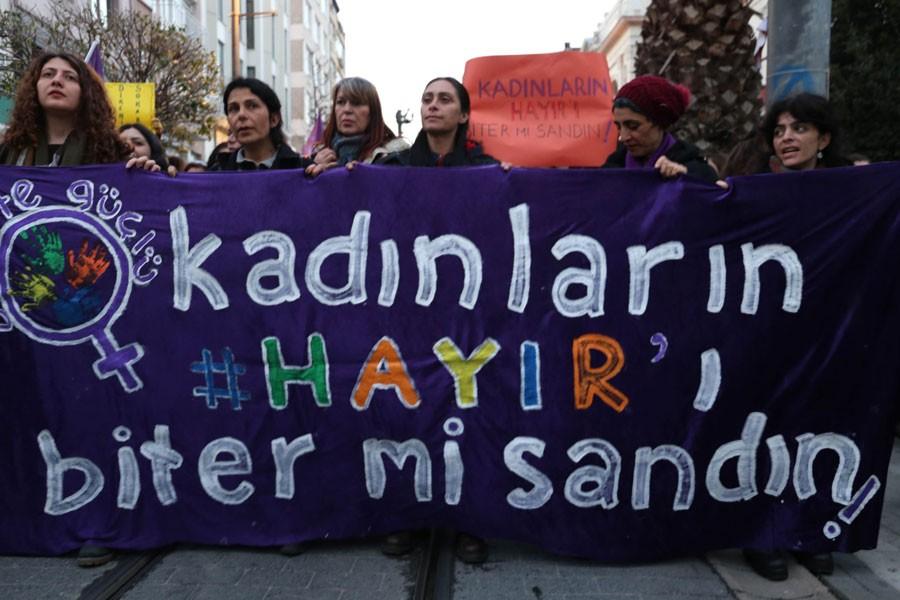 KADINLARDAN 'HAYIR' MÜCADELESİ