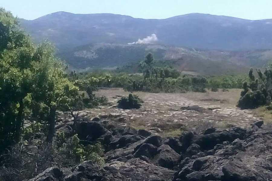 Hatay'da sınır karakolundan YPG mevzilerine havan atışı