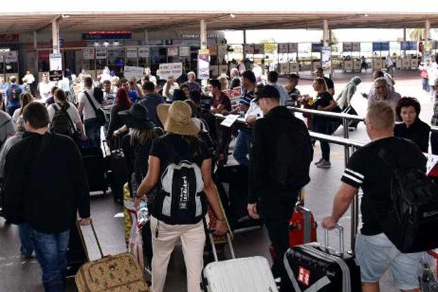 Antalya turizminde kayıp devam ediyor