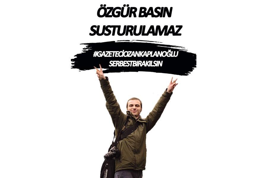 ÇGD: Gazeteci Ozan Kaplanoğlu derhal serbest bırakılsın