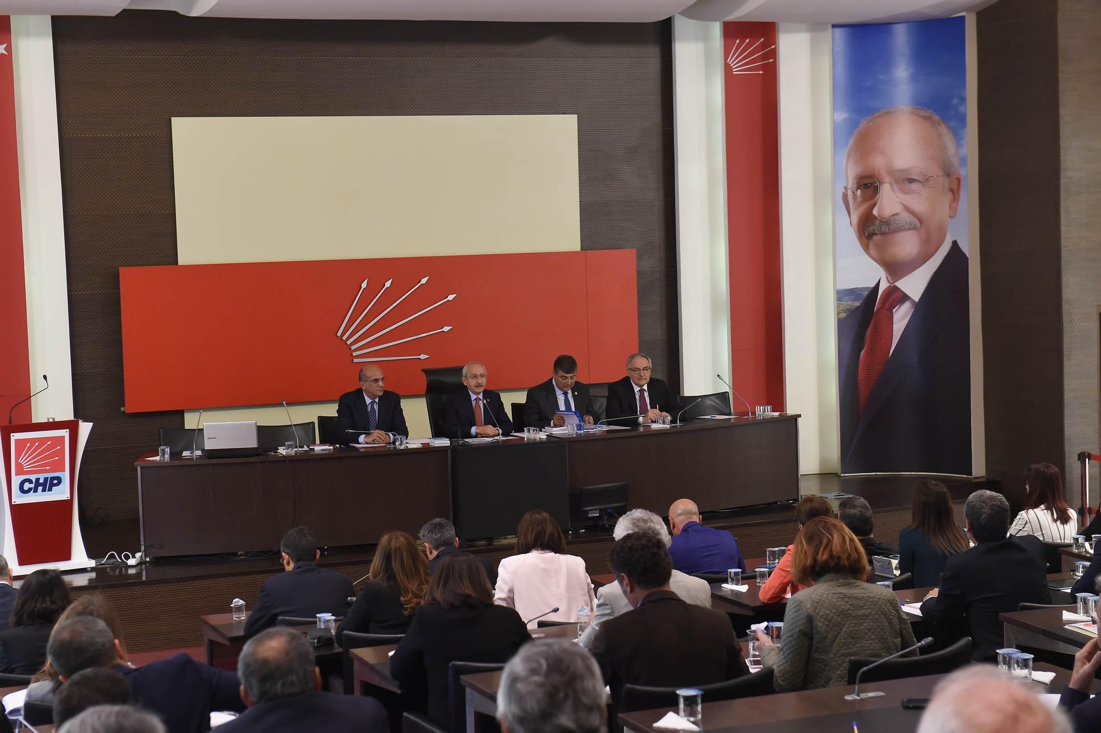 CHP PM, Fikri Sağlar gündemiyle olağanüstü toplandı