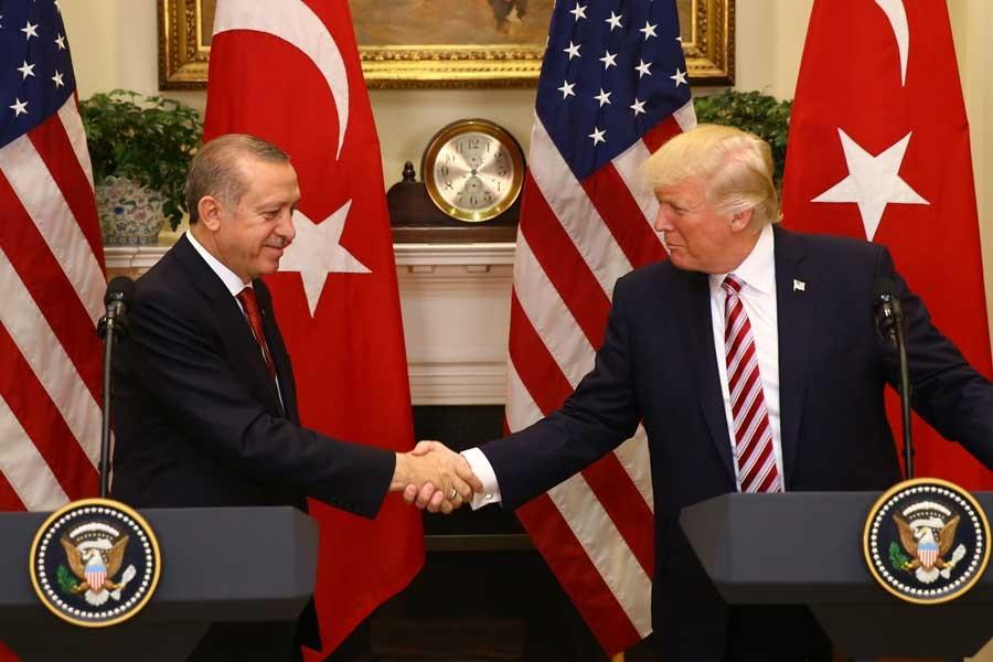 Erdoğan, G20'de Trump'la görüştü