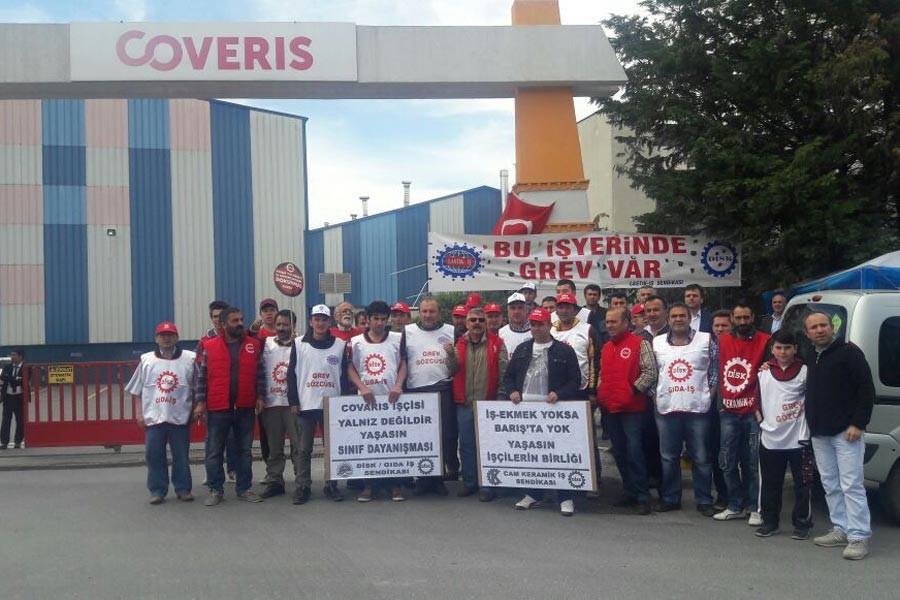 COVERIS patronundan grev intikamı: 11 işçi işten atıldı