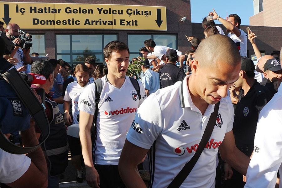 Beşiktaş kafilesi Antep'te