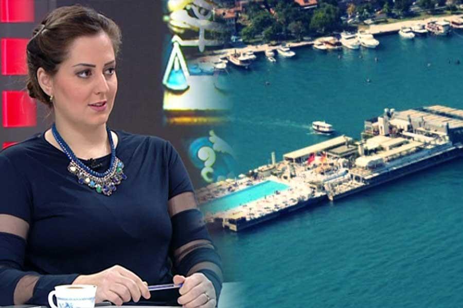 Ahmet Hakan'dan Galatasaray Adası'nda 'Sultan' hatırlatması