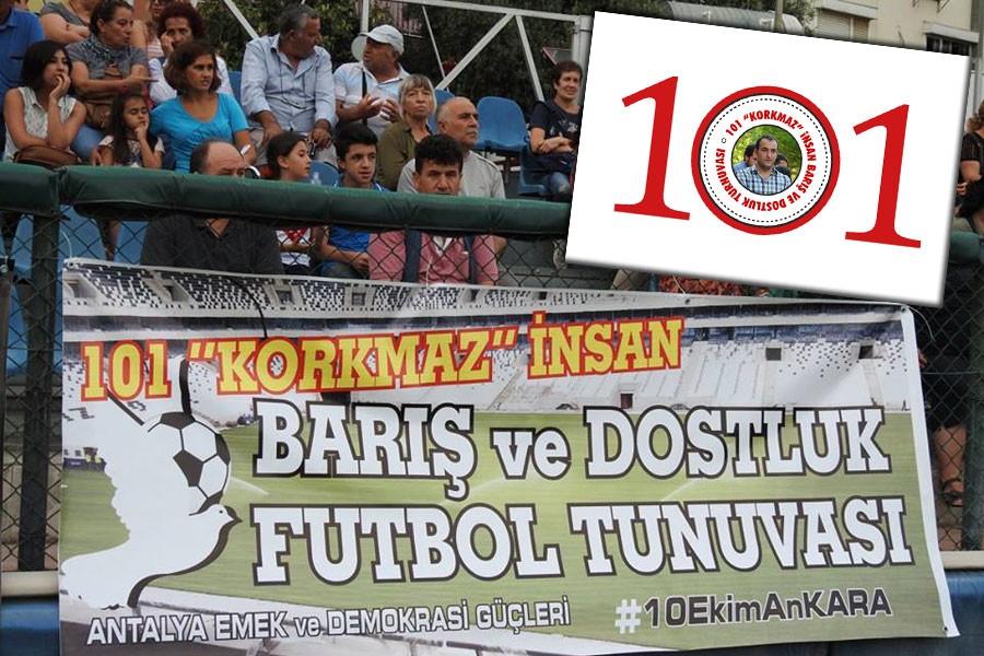 Antalya'da '101 Korkmaz İnsan' turnuvası düzenleniyor