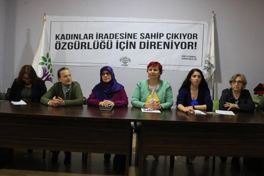 HDP Kadın Meclisi'nden Besime Konca'nın tutuklanmasına tepki