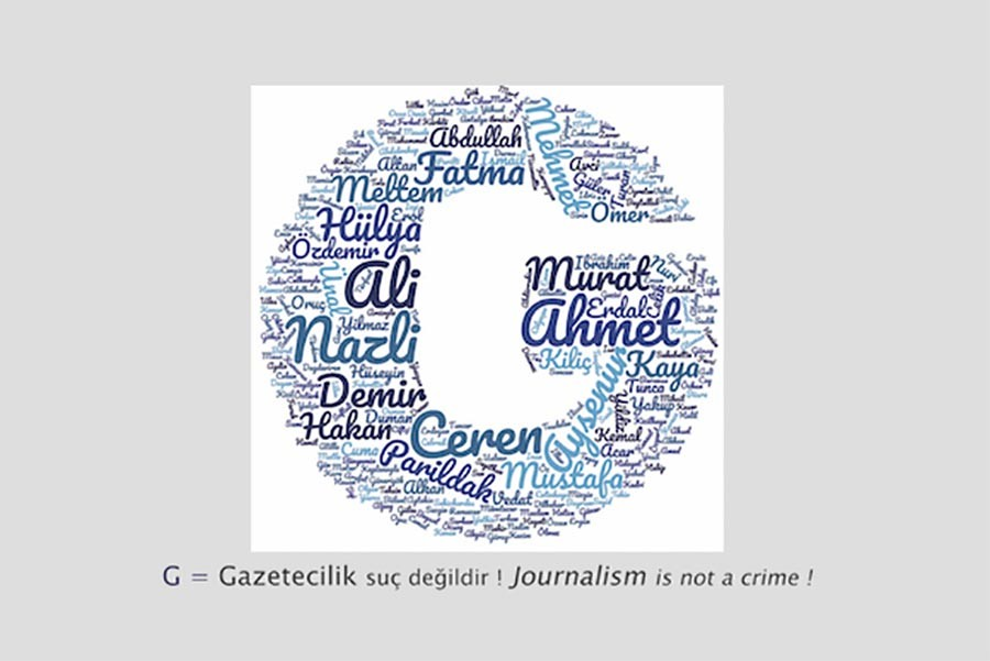 Journalists will send postcards to jailed colleagues in Turkey