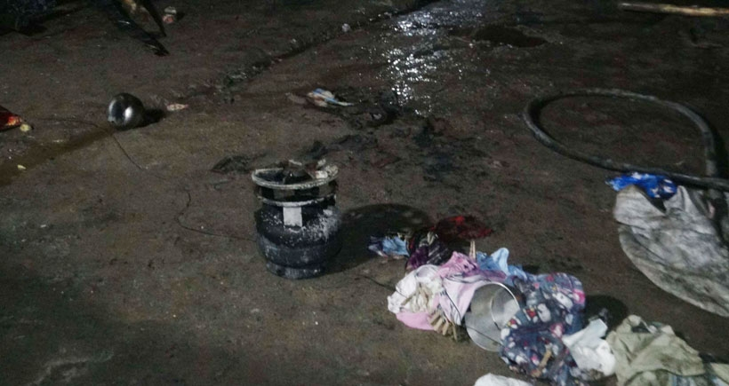 Suriyeli anne ve 8 aylık bebeği çadırda çıkan yangında öldü