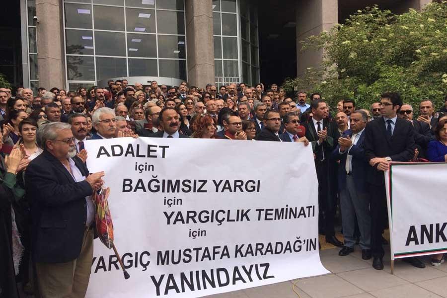 'Karadağ'ın sürgünü tüm yargıç ve savcılara karşıdır'