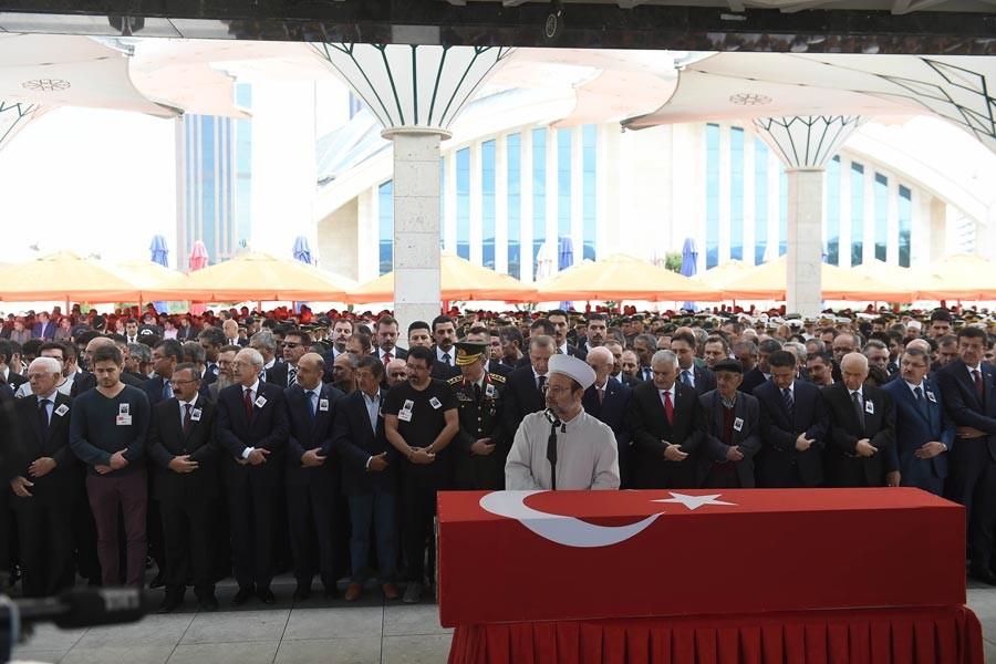 Şırnak'ta hayatını kaybeden askerler defnedildi