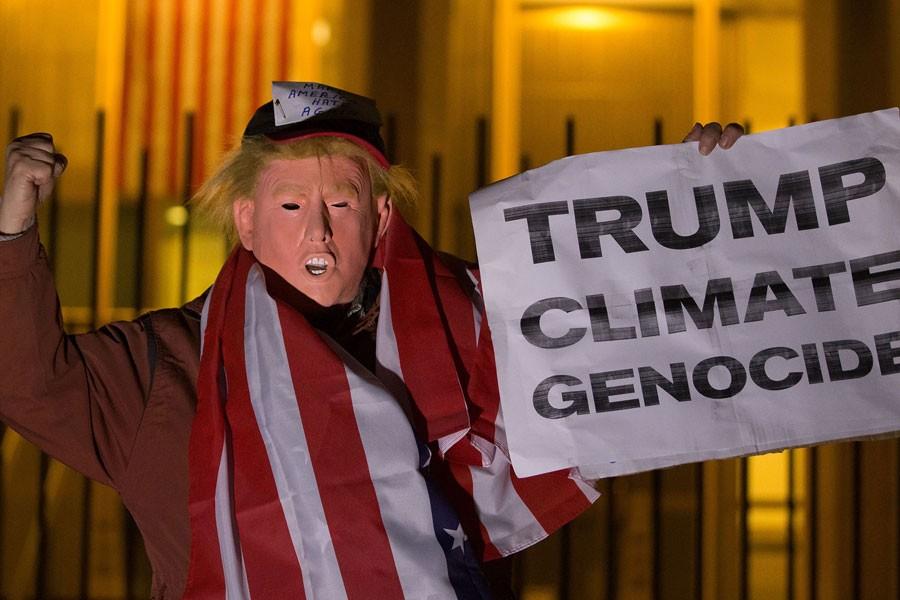 İklim değişikliği anlaşmasından çekilen ABD'ye tepki yağıyor