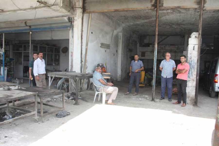 Urfa'nın eski sanayi sitesi TOKİ için boşaltılıyor