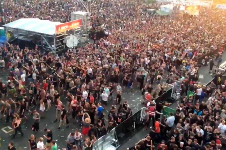 Almanya'nın en büyük rock festivaline terör tehdidi arası