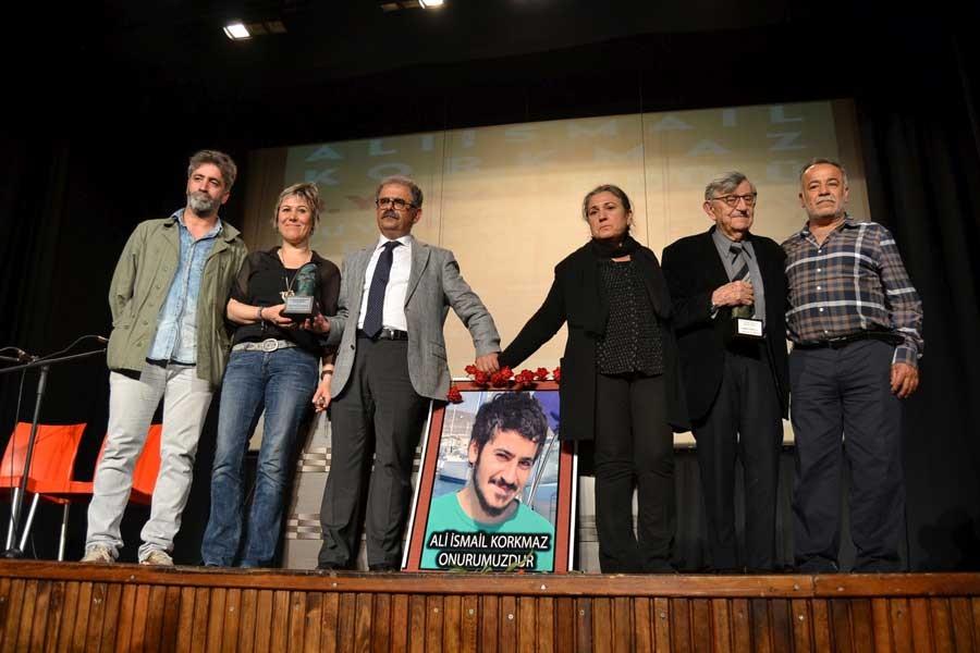Ali İsmail Korkmaz ödülleri dayanışma akademilerine