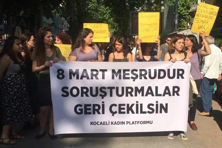 Kocaeli Kadın Platformu: Verilen cezayı kabul etmiyoruz