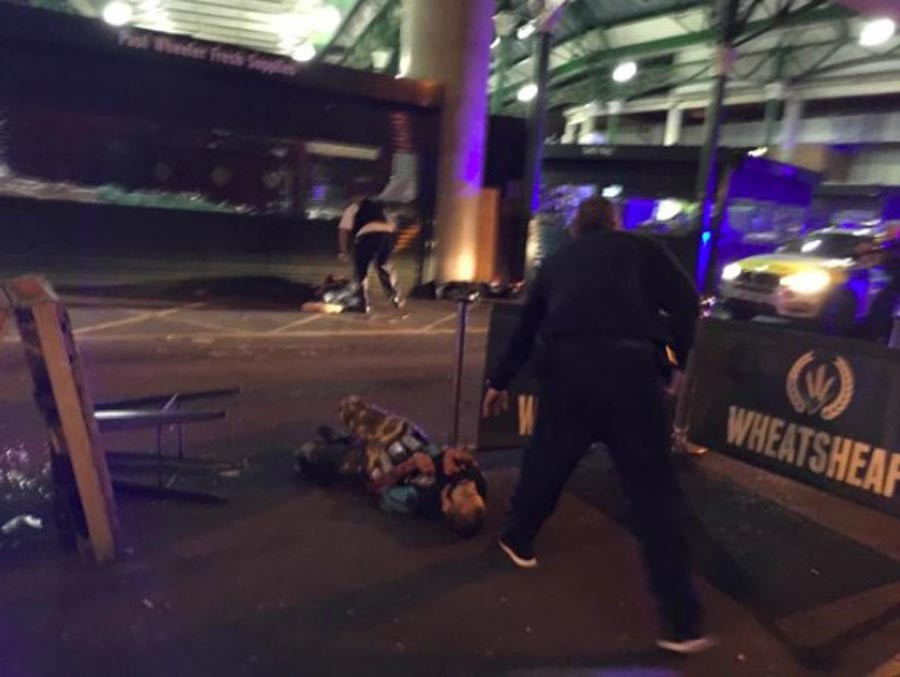 Londra'da ölenlerin sayısı 7'ye çıktı