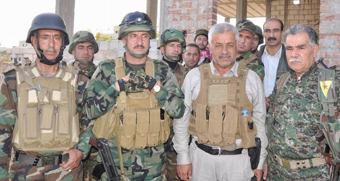 YPG ve peşmergeden 'ulusal ordu' mesajı