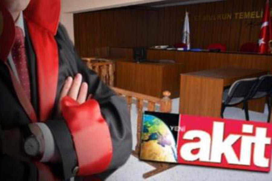 Akit haberini yaptı HSK hakim ve savcılara soruşturma açtı