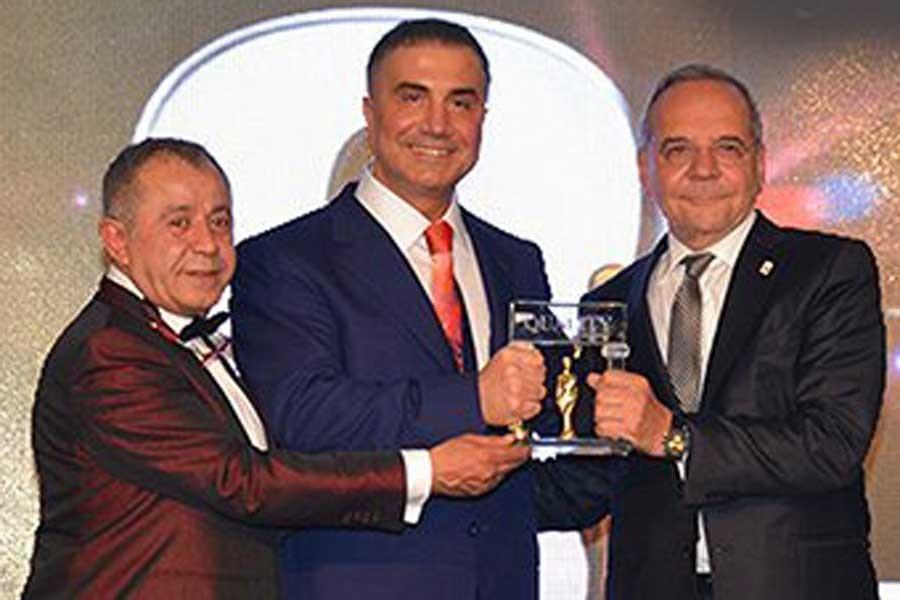 Suç örgütü lideri Sedat Peker'e bir ödül daha