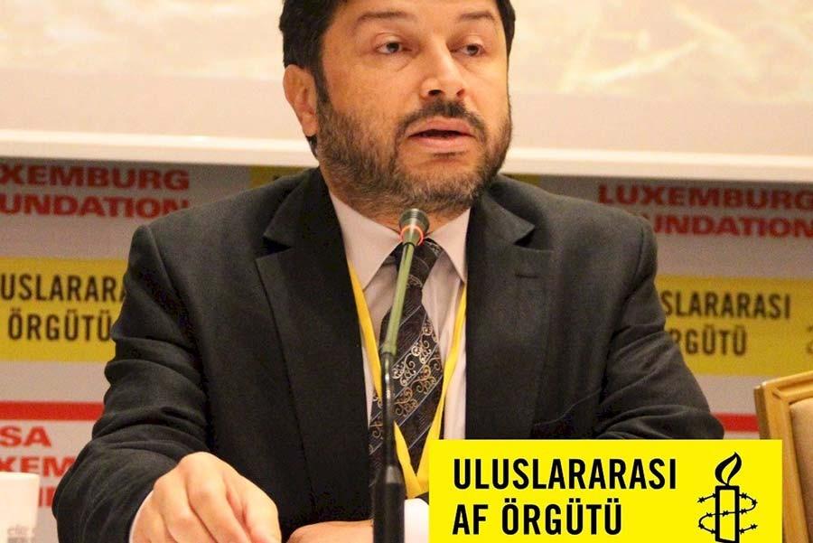 Taner Kılıç, the Chair of Amnesty International Turkey detained