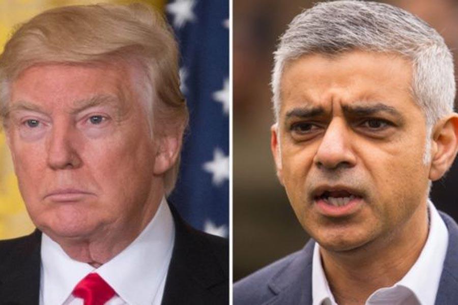 Sadiq Khan: Trump'ın İngiltere ziyareti iptal edilsin