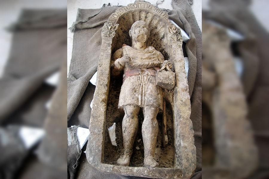 Müze bahçesinden 1500 yıllık heykel çalındı