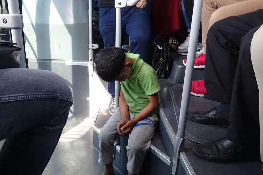 Metrobüslerin 'çocukları'