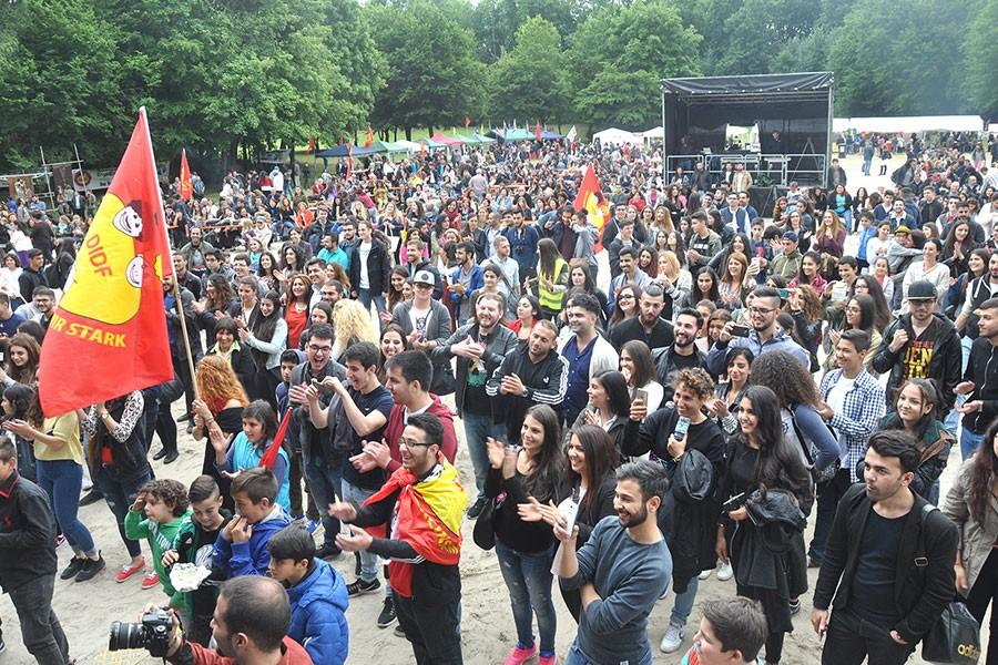 DİDF'ten 'Irkçılığa karşı birlik' festivali