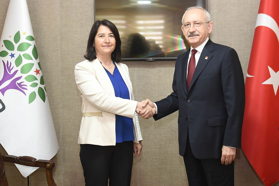 CHP leader Kılıçdaroğlu visits HDP for first time, calls for dialogue
