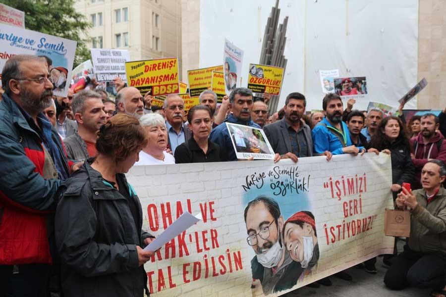'Nuriye Gülmen ve Semih Özakça yanlız değildir'
