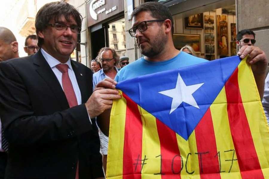 Katalonya İspanya'dan bağımsızlık referandumuna gidiyor