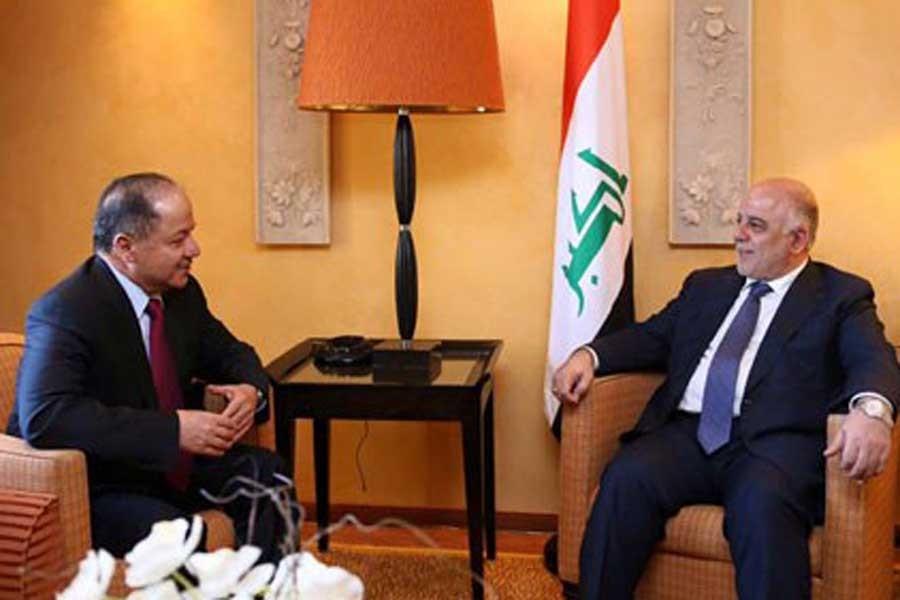 Barzani ile İbadi, referandum kararı sonrası ilk kez görüştü