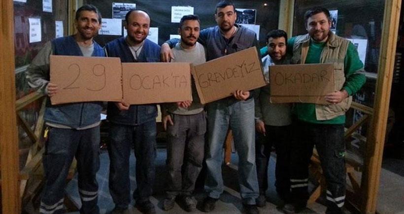 İzmir'deki sendikalar: Metal grevi  hepimizin grevi!