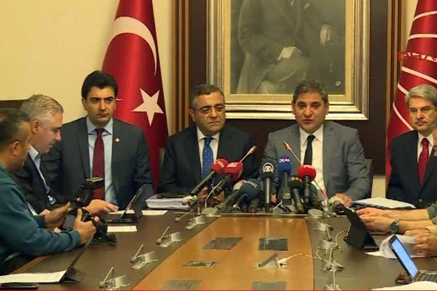 CHP'den darbe komisyonuna muhalefet şerhi