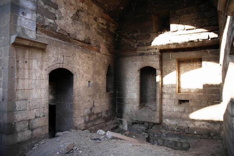 Çeltik Kilisesi de yıkımla karşı karşıya