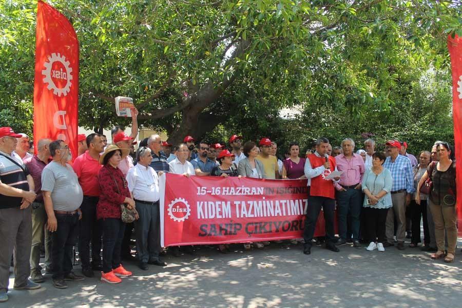 DİSK: 15-16 Haziran işçilerin yolunu aydınlatıyor