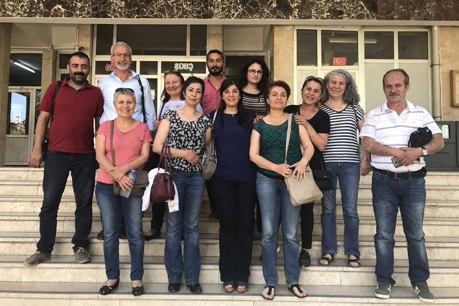 Malatya'da Demokratik Kadın Platformu üyeleri beraat etti