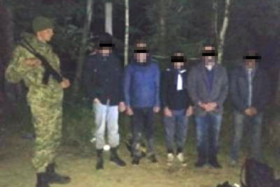 Ukrayna üzerinden AB'ye girmek isteyen Türkler yakalandı