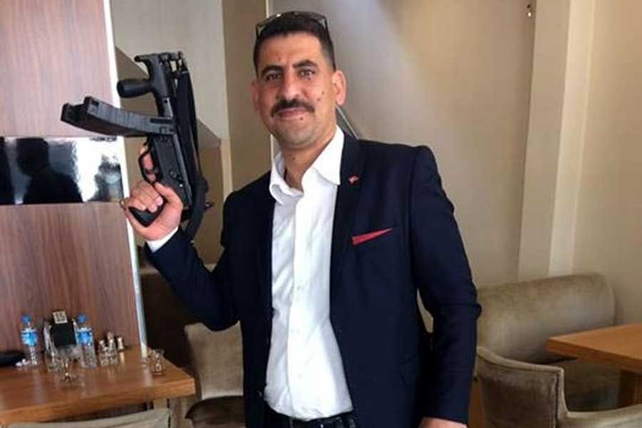 MP5'li paylaşım yapan AKP'li serbest bırakıldı