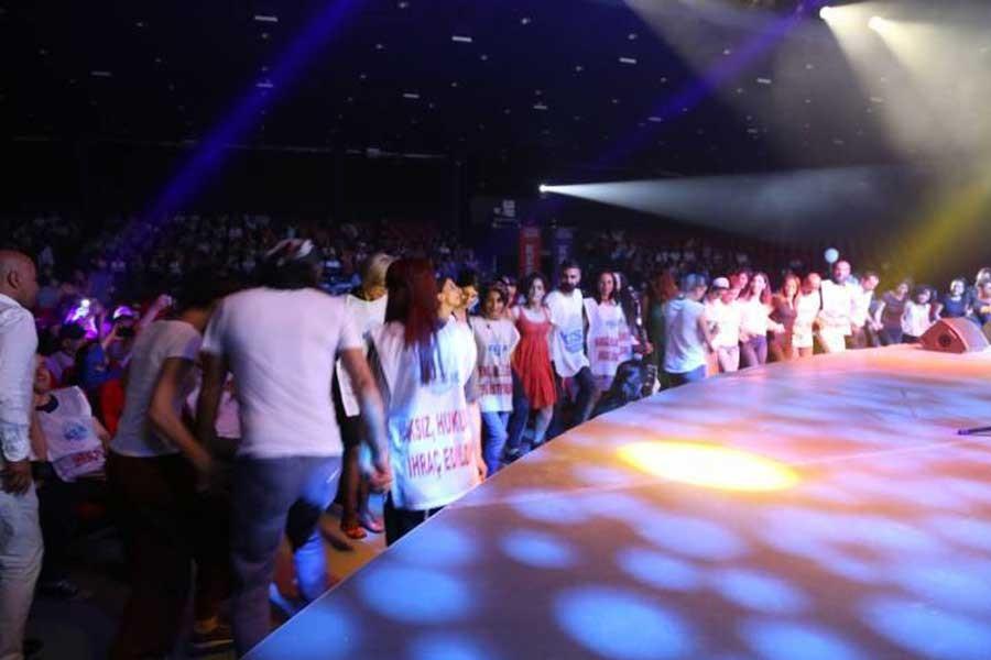 KESK İstanbul'da dayanışma konseri düzenledi
