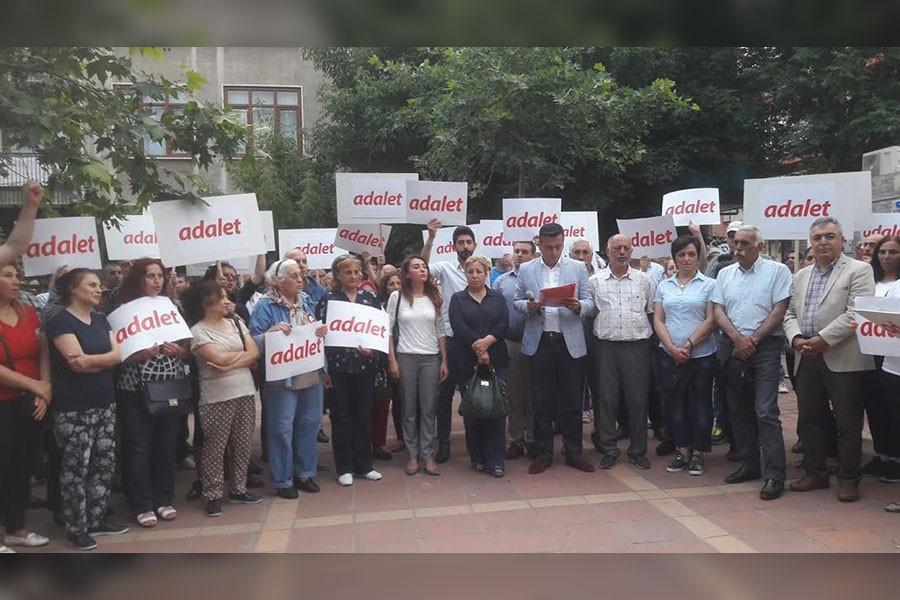 Darıca'dan 'Adalet Yürüyüşü'ne destek