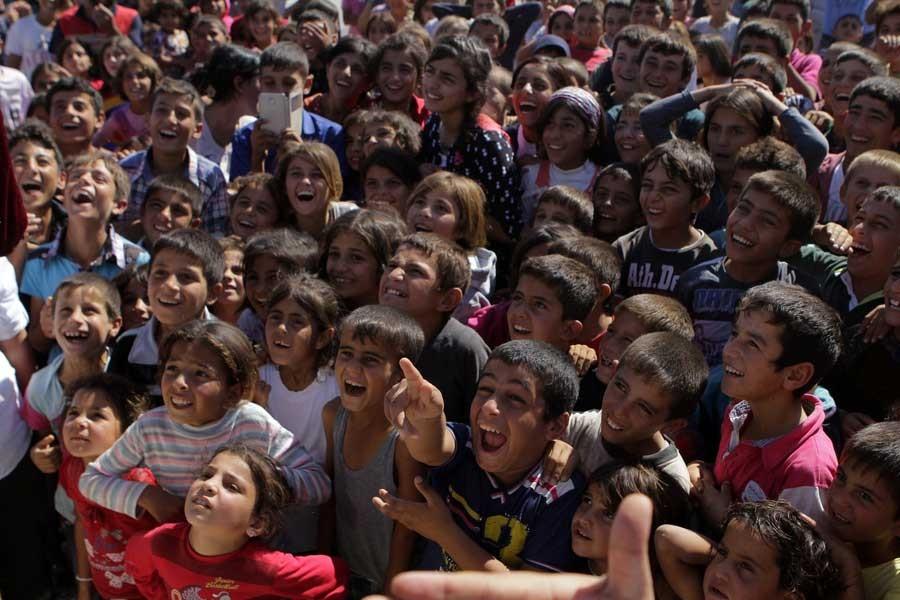 Sığınmacı çocuklar için psikolojik destek