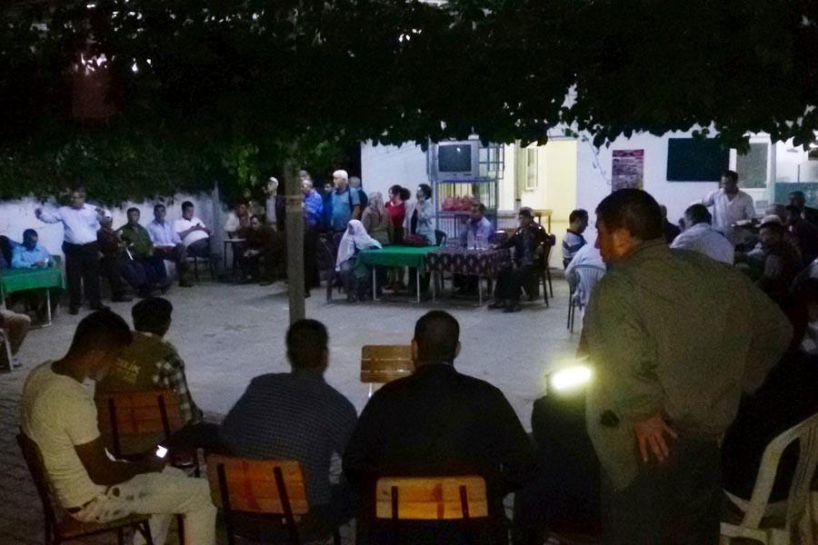 Aydın Çevre Platformu Musluca köylülerini ziyaret etti