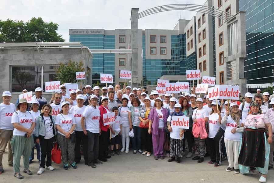 HDK adalet yürüyüşüne destek verdi