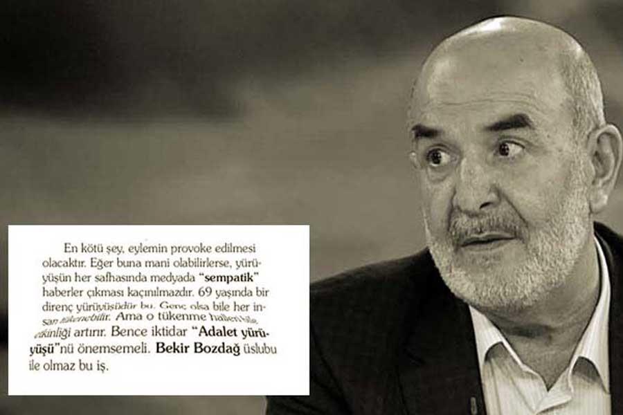 Star yazarı Taşgetiren'in yazısı sansürlendi iddiası